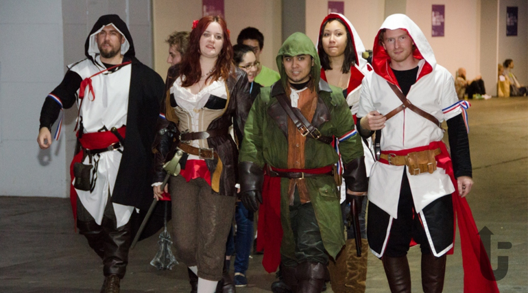 EGX, video games, expo, cosplay, Assassin's Creed, assassins