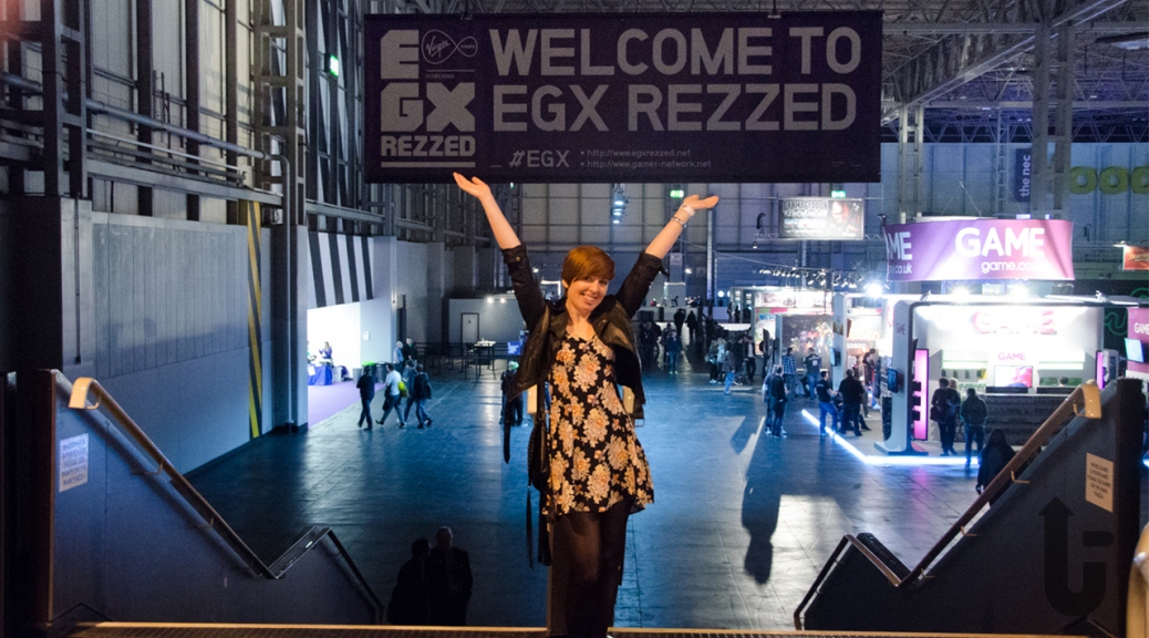 Rezzed, banner, stairs, expo, Kim