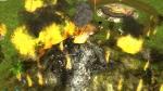 Idol Hands, video game, volcano, Furlings, village, fire, eruption, explosion