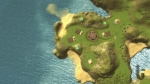Idol Hands, video game, map, island, sea, village, overview