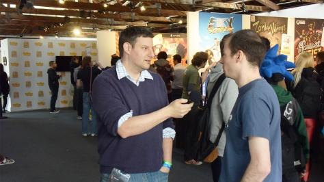 Rezzed, expo, video games, interview, Ben, Axel, Dreadlocks, Dex