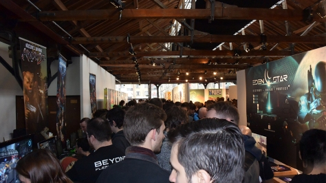 Rezzed, expo, video game, Indie Room, crowds