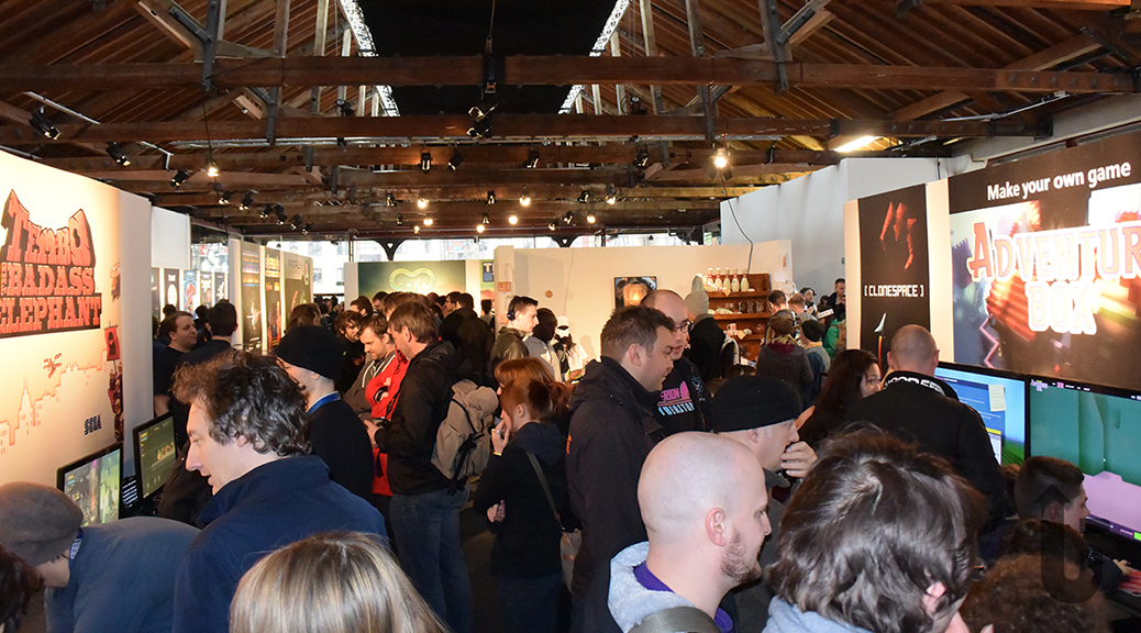 Rezzed, vdeo games, gamers, crowd, expo