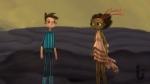 Broken Age, video game, Shay, Vella