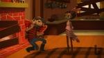 Broken Age, video game, Vella, Curtis, lumberjack, cabin