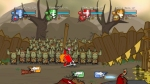 Castle Crashers, video game, knight, fight, arena