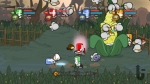Castle Crashers, video game, knights, fight, arena, Corn Boss