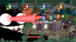 Castle Crashers, video game, knights, fight, arena, train, fire, Troll Boss