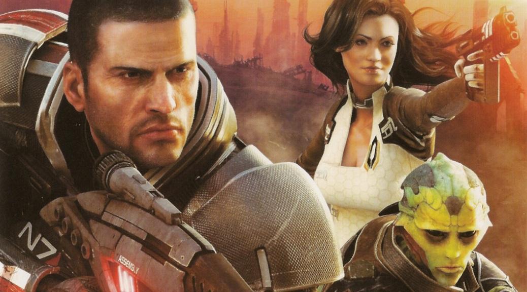 Mass Effect 2, video game, box art, Commander Shepard