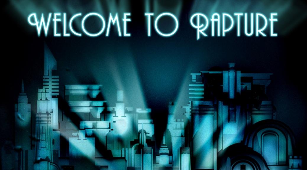 BioShock, video game, box art, Welcome to Rapture, underwater, art deco, city