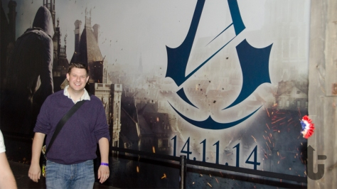 EGX, expo, video games, stand, Ben, Assassin's Creed Unity