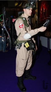 EGX, expo, video games, cosplay, Ghostbusters