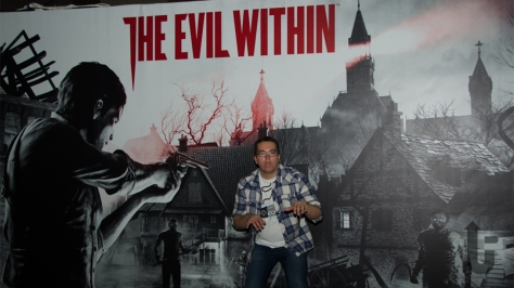 EGX, expo, video games, Phil, zombie, The Evil Within