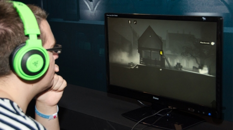 EGX, expo, video games, Phil, Calvino Noir