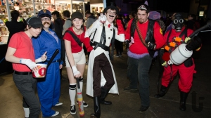 EGX, expo, video games, Team Fortress, cosplay