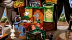 Sam & Max Hit the Road, video game, carnival, freak show, tent