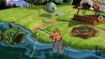Sam & Max Hit the Road, video game, fisherman, lake, water, fish, talking fish, fishing rod