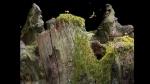 Samorost, video game, goats, cliff, eagle, gnome