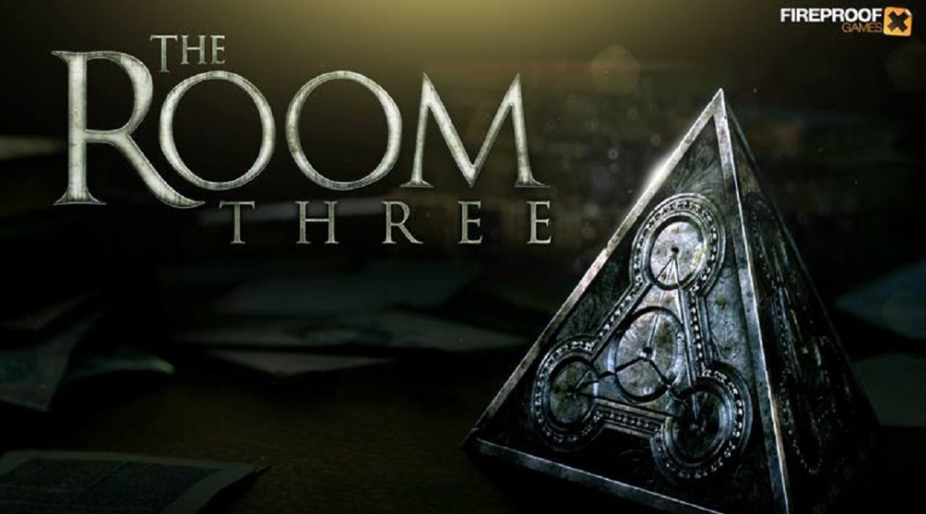The Room Three, video game, box art, pyramid, clockwork, puzzle