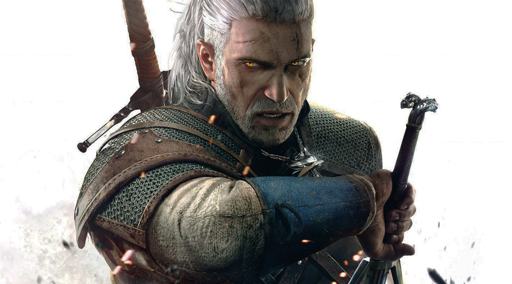 The Witcher 3: Wild Hunt, video game, box art, Geralt, Witcher, sword