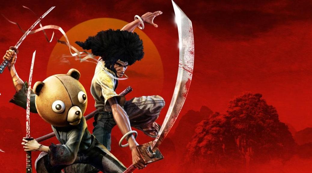 Afro Samurai 2: Revenge of Kuma, video game, box art, samurai, sword, Afro, Kuma, teddy bear, ninja