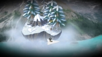 A Bird Story, video game, paper plane, sky, island, bird, snow, boy