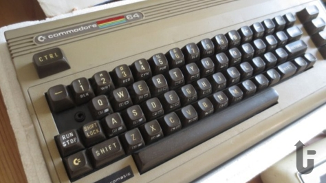 Commodore 64, keyboard, video games