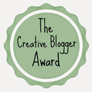 Creative Blogger, WordPress, award