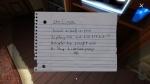 Gone Home, video game, note, writing, scrap paper, Chun Li moves