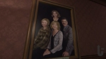 Gone Home, video game, family portrait, painting, frame, Katie, Sam, Jan, Terry