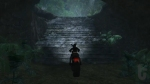 Tomb Raider: Underworld, video game, Tomb Raider, Lara Croft, cave, stairs, motorbike