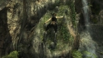 Tomb Raider: Underworld, video game, Tomb Raider, Lara Croft, cave, waterfall, climbing