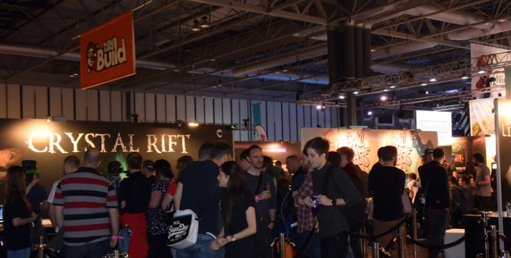 EGX, video games, expo, event, crowd, gamers