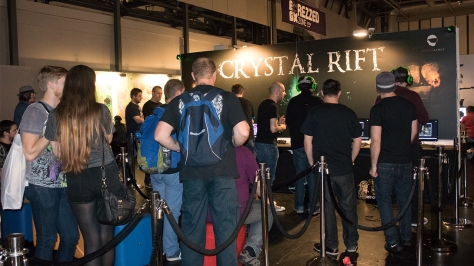 EGX, event, expo, video games, Crystal Rift