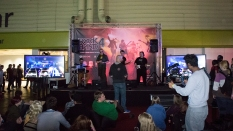 EGX, event, expo, video games, Rock Band 4, stage