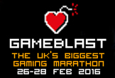 GameBlast, charity, SpecialEffect, Gamely Giving, logo