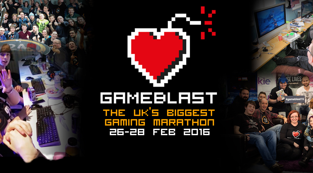 GameBlast, SpecialEffect, charity, video games, fundraising, event