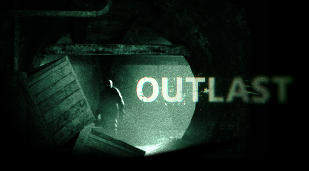Outlast, video game, darkness, shadows, stranger, hunted, title
