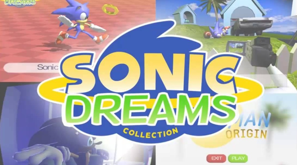 Sonic Dreams Collection, video game, Sonic the Hedgehog, box art