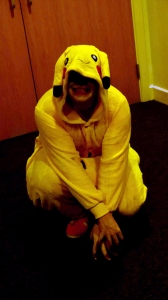 Tim, Pikachu, Stalkachu, costume, cosplay