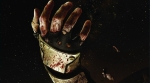 Dead Space, video game, box art, hand, arm, blood, space, stars, floating