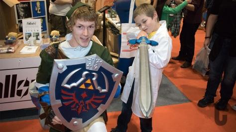 MCM Comic Con, London, event, costume, cosplay, Link, The Legend of Zelda, Ethan, Brainiac