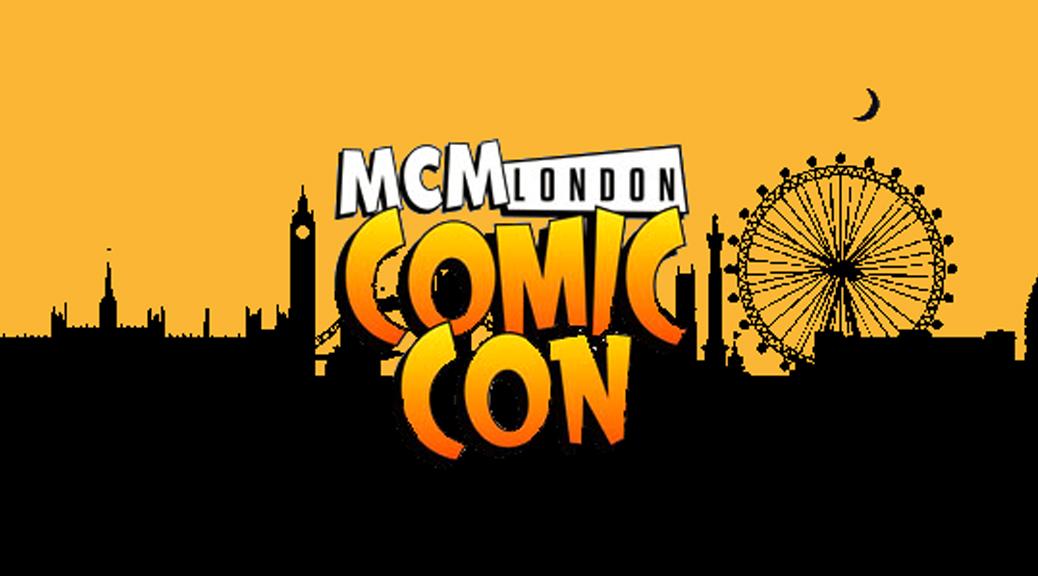 MCM Comic Con, logo, London, skyline