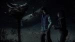 Until Dawn, video game, darkness, snow, Emily, Matt, pig head, note, blood