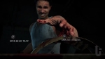 Until Dawn, video game, Mike, bear trap, knife, fingers, blood, amputate, choice, decision