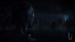 Until Dawn, video game, darkness, monster, watching, water, lake