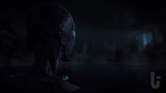 Until Dawn, video game, darkness, monster, watching, water, lake
