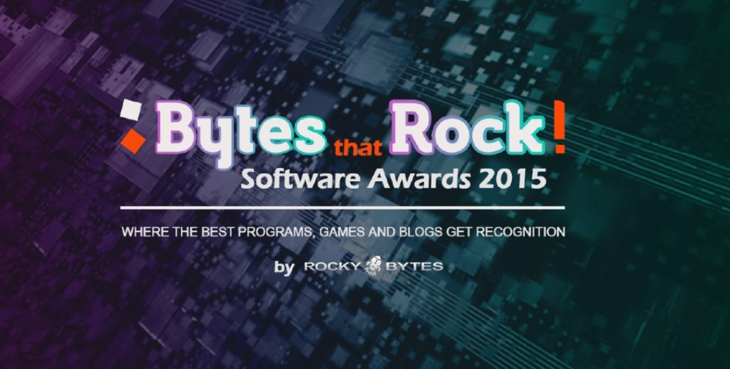 Bytes that Rock!, 2015, Rocky Bytes, award