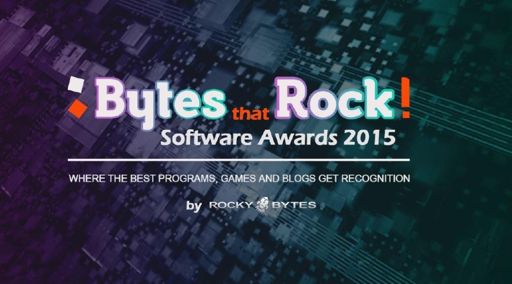 Bytes that Rock!, 2015, Rocky Bytes, award
