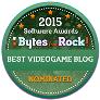 Bytes that Rock! award, nomination, 2015